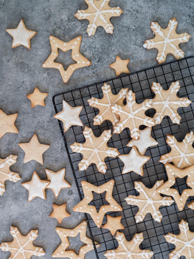 Galletas de Navidad de Miel y Jengibre - Espacio Culinario